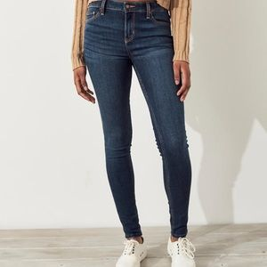Hollister skinny jeans!